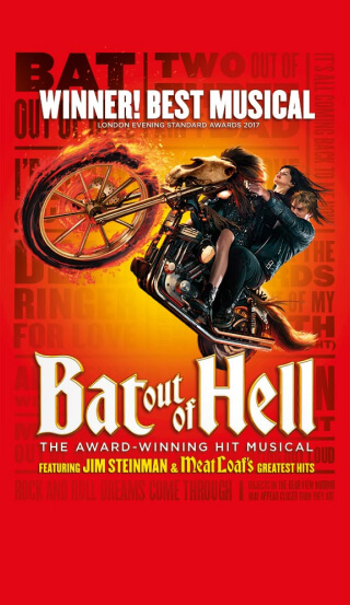 tour of bat out of hell