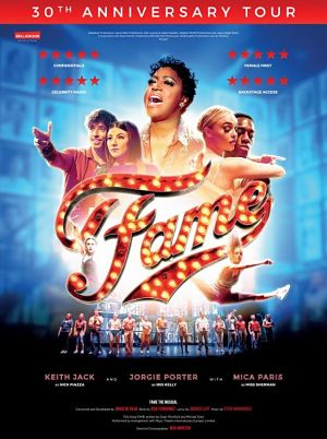 Fame the Musical tour