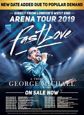 fastlove george michael tribute tour