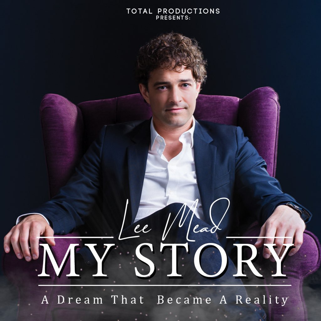 lee mead my story concert tour