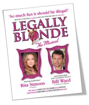LEGALLY BLONDE THE MUSICAL ON TOUR