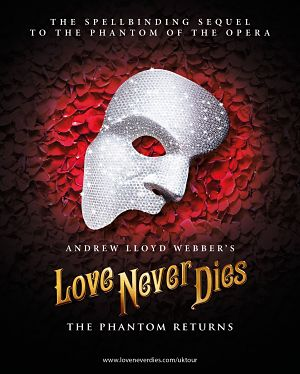 Love Never Dies on tour