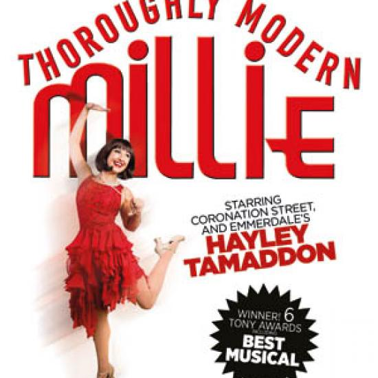 tour of thoroughly modern millie
