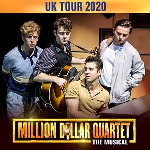 tour of million dollar quartet