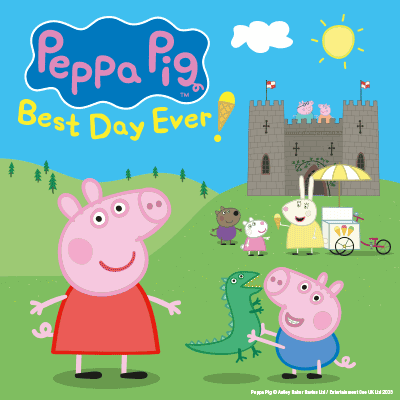 Peppa Pig's Best Day ever tour