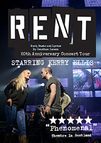 Rent in concert starring Kerry Ellis
