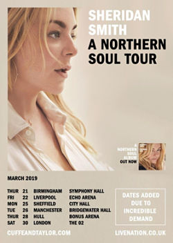 sheridan smith northern soul tour