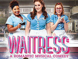 Waitress the Musical show and ticket booking details