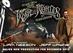 Jeff Wynes the War of the Worlds