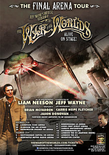 War of the Worlds Final Arena Tour